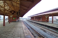Tyseley station platforms 2, 3 and 4