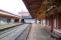 Tyseley station building from platform 3