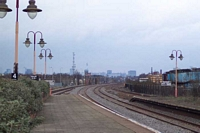 Tyseley station looking towards Birmingham