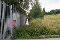 Withymoor goods station site and canal spur