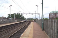 Witton station looking towards Walsall