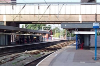 Wolverhampton station looking towards Stafford