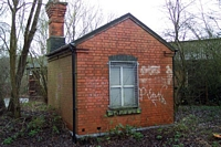 Wombourne station weighbridge office