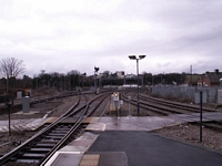 Worcester Shrub Hill station track