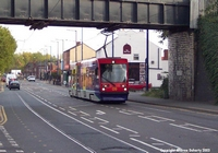 Midland Metro T69 on Bilston Road